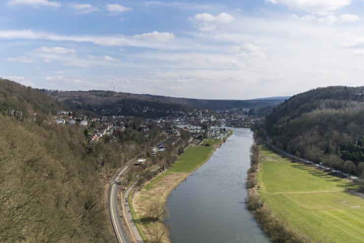 Weser, Skywalk, Weser-Skywalk, RHPHOTOS, Mountain, Berg, Aussicht, View, Travel, Travelling, Tourist, Solling, Wald, Wood, Bad Karslhafen, Würgassen