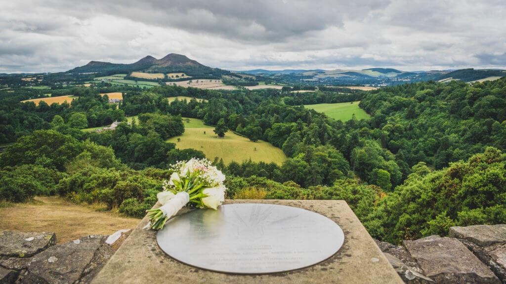 Ausblick vom Scott's View.