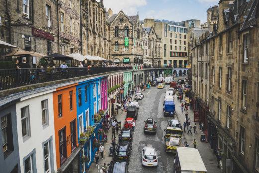 Schottland: Edinburgh - Victoria Street